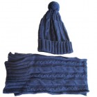 Accessories ... Cabled Scarf & Hat