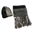 Accessories... Knitted Alpaca Scarf & Hat